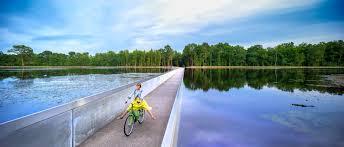 B&B Casa Roman - Bokrijk, fietsen door het water
